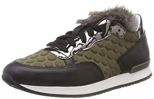 Pollini Running Time, Sneaker Donna, Grün (Military Green 85a), 41 EU