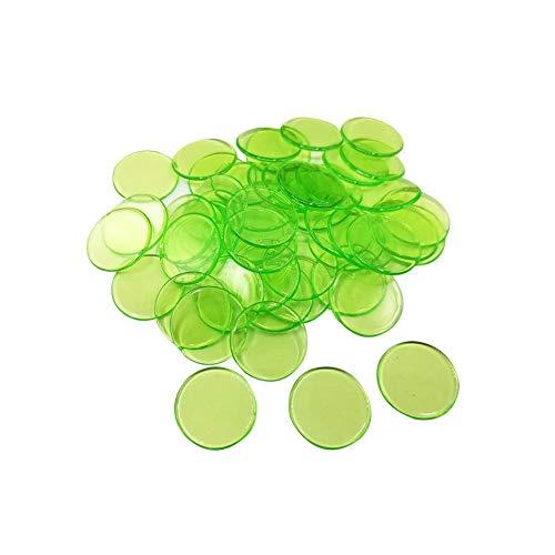 bester Test von plastikchips Ich habe 100 Stück verwendet.  / 19mm.  Kreatives Geschenkzubehör.  Pokerchips aus Kunststoff.  Bingo Casino Chips.