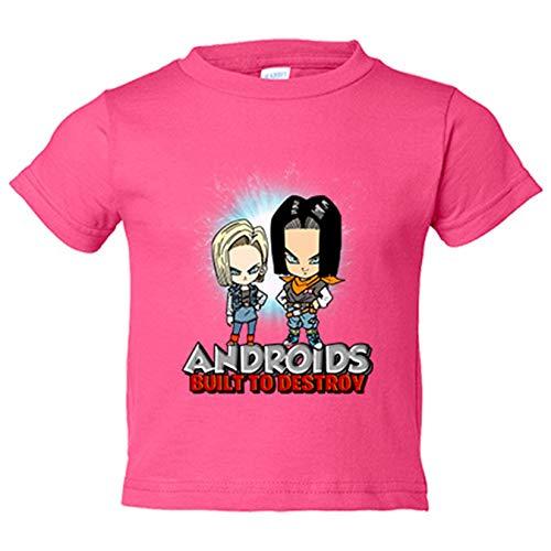 Camiseta bebé parodia kawaii C17 y C18...