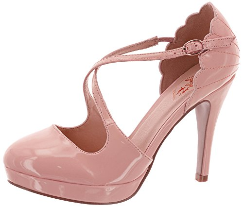 Dancing Days by Banned Riemchen-Pumps Riverside RAE 260 Rosa 38