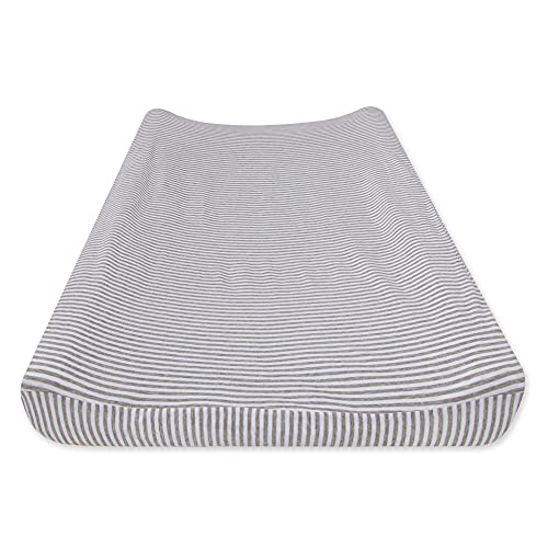 mat covers Burt's Bees Baby - Changing Pad Cover, 100% Organic Cotton Changing Pad Liner for Standard 16