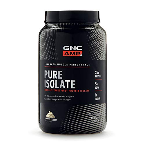 GNC AMP Pure Isolate - Vanilla Custard