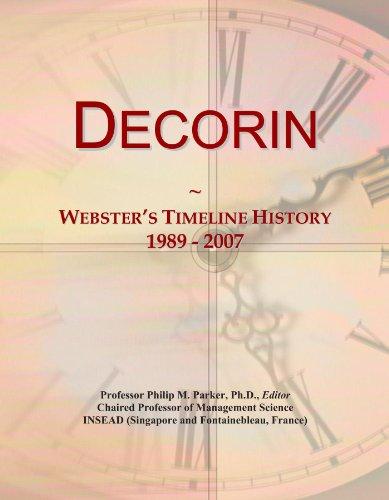 Decorin: Webster's Timeline History, 1989 - 2007