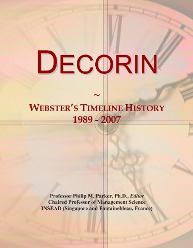 Decorin: Webster's Timeline History, 1989 - 2007