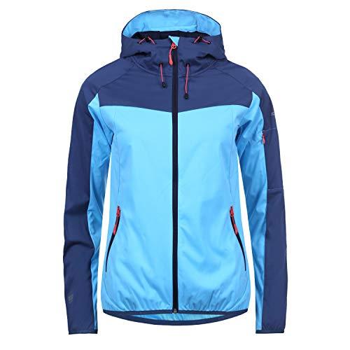 Icepeak Seana Softshell Jacket Women 54922 505 Größe 40 FB363 Blue