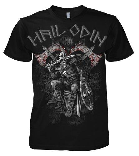 Art Worx Hail Odin T-Shirt S - 5XL, Schwarz, M