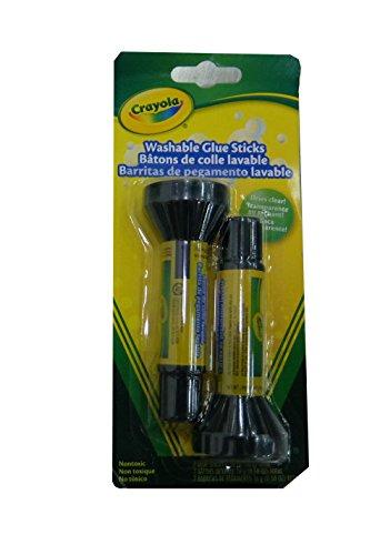Crayola Glue Stick Set, School Supplies, 2 Count, Each .29oz