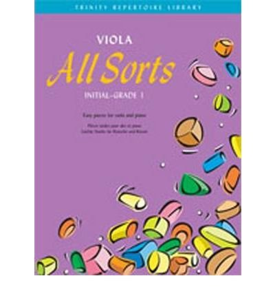 Viola All Sorts Initial-Grade 1 (Trinity Repertoire Library: Allsorts Series) (Sheet music) - Common