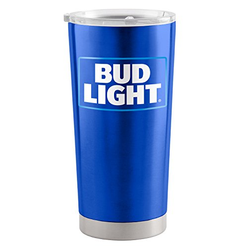 Bud Light 20 Oz metallo Tumbler Cup