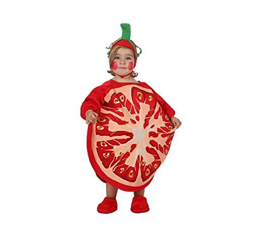 Atosa- Disfraz Tomate, Multicolor, 6 a 12 Meses (10428)