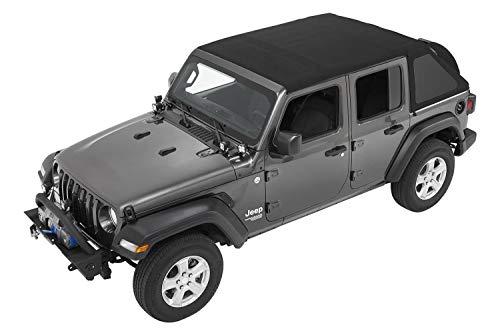 Bestop 5686335 Black Diamond All-New Trektop Soft Top 4-Door for the Jeep Wrangler JL