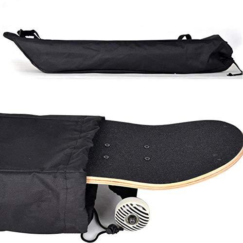 cuffslee 2 pcs Skateboard wasserdichte Tasche,Rucksack zum Transport Longboard, Tragbare Skateboard-Tasche, Skateboard-Zubehörtasche Oxford Cloth Wear Resistant Shoulder Bag