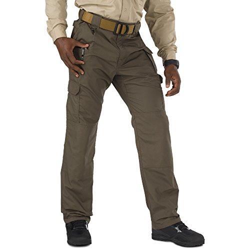 5.11 Men's Taclite Pro Tactical Pants, Style 74273, Tundra, 36Wx30L