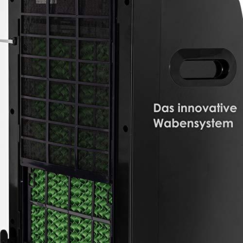 Mobile Klimaanlage 8 L Wasser/Eis Tank Ionisator Luftbefeuchter kaufen  Bild 1*