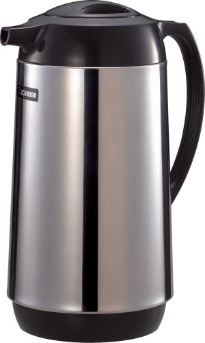Zojirushi Thermal Serve Carafe, Made in Japan, 1.0 Liter, Polished Stainless Steel