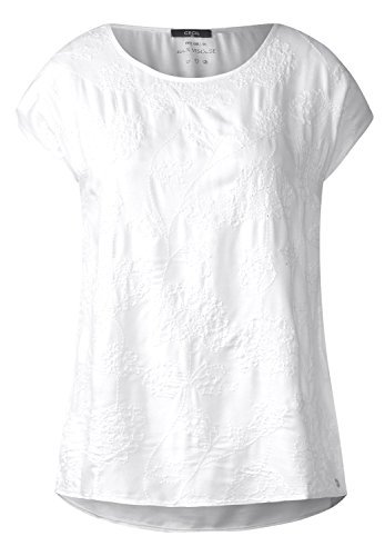 Cecil Damen 340970 Bluse, White, Small