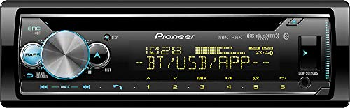 Pioneer CD Receiver with Enhanced Audio Functions, Pioneer Smart Sync App Compatibility, MIXTRAX, Built in Bluetooth and SiriusXM