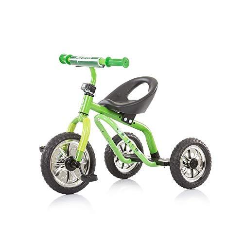 Chipolino Triciclo Sprinter a Partir de 3 años, Carga máxima 25 kg, Regulable en Altura, Color:Verde Claro: Amazon.es: Juguetes y juegos