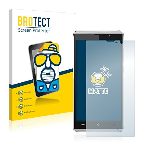 BROTECT 2X Entspiegelungs-Schutzfolie kompatibel mit Cubot P11 Bildschirmschutz-Folie Matt, Anti-Reflex, Anti-Fingerprint