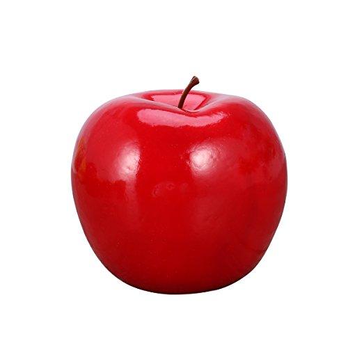 VORCOOL Deko Artikel Apfel künstliche Obst rote Apfel für Tischdeko, Foto Requisiten