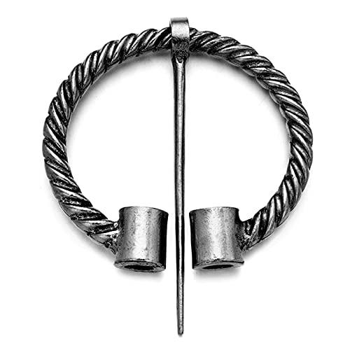 RUIYELE Viking Fashion - Broche de aleación para mujer