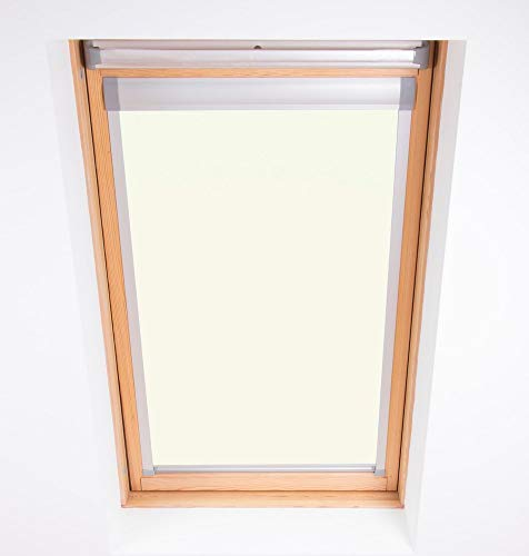 Persiana Bloc Skylight 10 (114/118), para Ventanas de Techo Fakro, Color Blanco