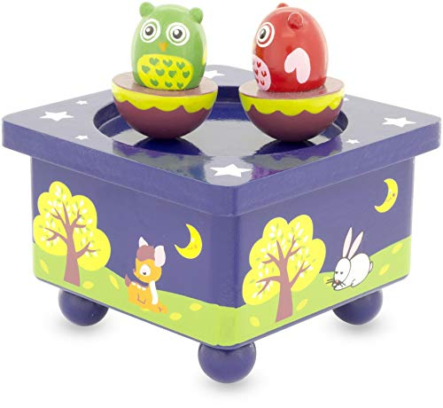 Ulysse 3907 Musical Box Owl