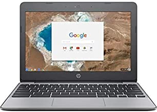"HP 11.6"" High Performance Lightweight Chromebook-Intel Celeron Dual-Core Up to 2.16 GHz Processor, 4GB RAM, 16GB SSD, Inte..."
