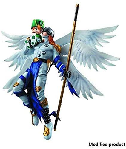 brandless Digimon Adventure: PVC-Figur von Angemon & Takeru - Hochdetaillierte Skulptur - Höhe 9 8 Zoll