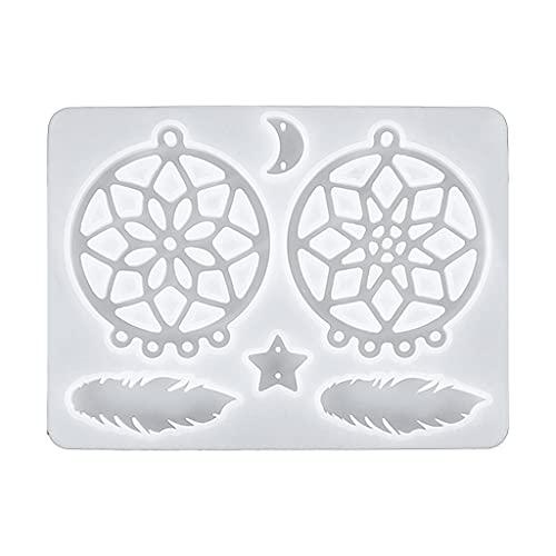 XIANZI Molde de resina epoxi, molde de silicona, molde de resina epoxi para decoración de pared, adecuado para joyas DIY