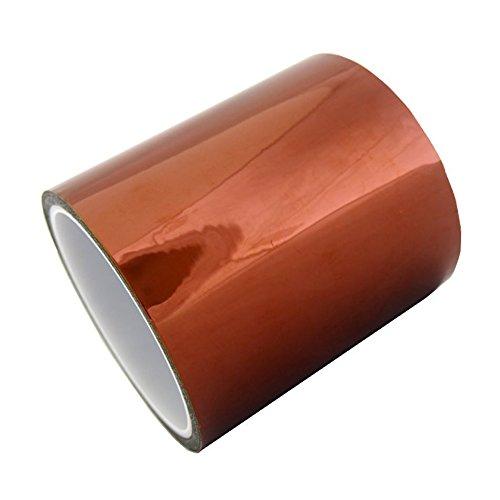 KAPTON 100mm 10cm lunghezza 33 mt metri nastro adesivo resistente alle alte temperature schermatura stampante 3D printer reprap smd bga pcb rework prusa rotolo cablaggi poliammide