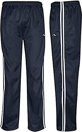 Jogging Bottoms for Men Tracksuit Pants Trousers Sweatpants Striped Silky Joggers Gym Sportswear Fitness Leisure Plus Sizes
