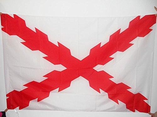 AZ FLAG Bandera del DUCADO DE BORGOÑA 150x90cm para Palo -