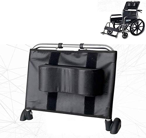 """ReManda Rollstuhl Kopfstütze Nackenstütze Komfortable Rückenlehne Kissen, Einstellbare Erhöhung Polsterung Für Erwachsene Portable Universal Rollstuhl Zubehör, 16""""-20.5"""" (Schwarz)"""