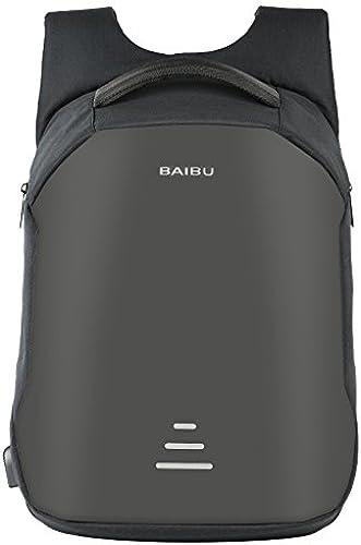YanLong Sac à Dos de Voyage Charge USB Anti-vol Multifonctionnelle Ultra-léger portable Grande Capacité