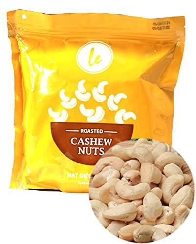 【レガーデン】ベトナム高級カシューナッツ 素焼き 塩味焼き 皮付き塩焼き 無添加 長期保存 贈り物 (素焼き, 500g)