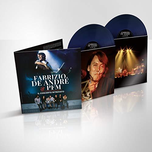 Fabrizio De Andre E Pfm. Il Concerto Ritrovato – Doppio LP Colorato Blu  (Esclusiva Amazon.it)