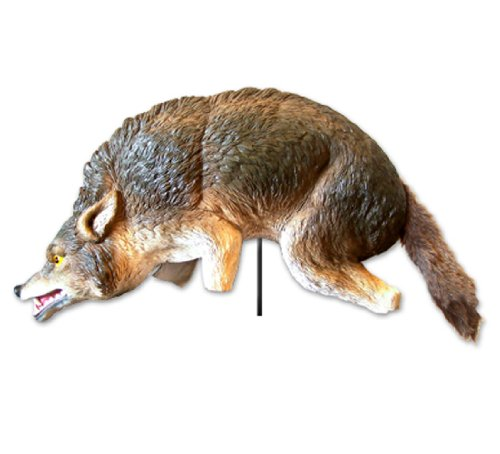 Bird-X Coyote 3-D Predator Replica Visual Scare for Bird and Pest Control