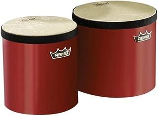 Remo Pre-Tuned Bongo Set - (Red)