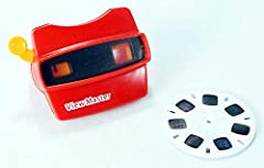 Includes one miniature Fisher-Price View-Master, retro style Measures 2 x 1.25 x 1.50 inches inches This miniature View-Master actually works just like the full-size version! For fans of all ages. Recommended for ages 6 and up. The perfect desk toy, ...