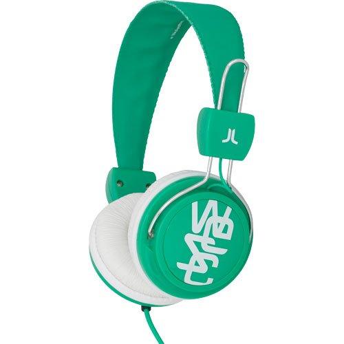 WeSC Conga Blanery Green OnEar-Kopfhörer (inkl. Hands-Free Unit & Adapter für Sony Ericsson & Nokia) grün/weiß