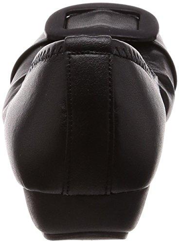 ARCH CONTACT カジュアルパンプス レディース IM39081 クロ 22 cm [5136]
