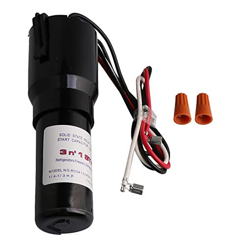 RCO410 Compressor Hard Start Capacitor Kit For Refrigerators Freezers 115VAC