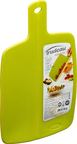 Trudeau Taglieri da cucina pieghevoli per versare più facilmente, varie dimensioni e colori, lavabile in lavastoviglie, non si piegano (22 x 19,5 cm)