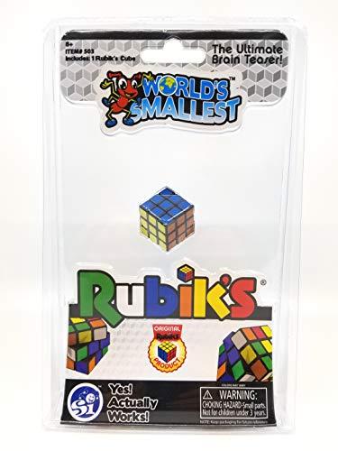 World's Smallest Toys Welten kleinste Rubik