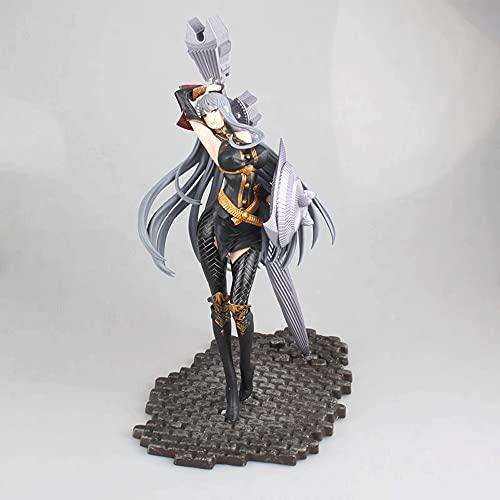Akazan The Valkyrie of The Battlefield Vertex Ceruberia Battle Mode Adornos 31cm Edición Limitada Postura Figuras de acción Colección de Juegos de Anime Femenino