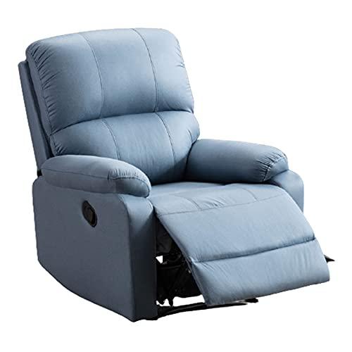 DAPAO Silla eléctrica de masaje, sillón para el hogar, sillón pequeño, reclinable eléctrico, paño técnico, masaje de cuerpo completo, apto para sala de estar, balcón, sala de estudio, 79 x 92 x 97 cm