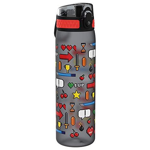 Ion8 Sottile, Borraccia Senza Perdite, Senza BPA Unisex, Multicolore (Giocatore), 500 ml