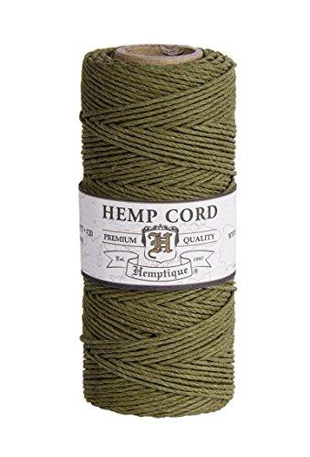 Hemptique HS20C0 - SG - Cordel para jardinería, Color Verde