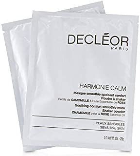 Decleor Harmonie Calm Soothing Comfort Smoothie Mask Shaker Powder - For Sensitive Skin (Salon Product) 5x20g/0.7oz